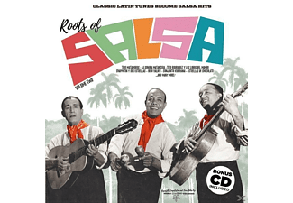VARIOUS - Roots Of Salsa Vol.2-Classic Latin Tunes... [LP + Bonus-CD]