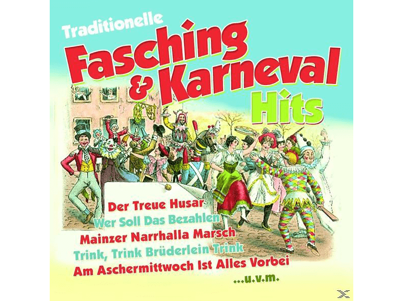 VARIOUS - Traditionelle Fasching & Karneval Hits [CD]