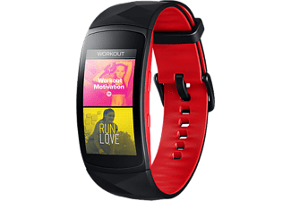 SAMSUNG GALAXY GEAR FIT 2 PRO (LARGE) - RED/BLACK