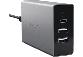 SATECHI USB-C 40W Reseladdare - SPACE GRAY