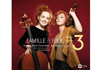 Camille Berthollet - No. 3. (CD)
