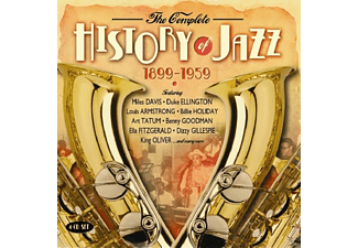 VARIOUS - Complete History Of Jazz 1899-1959 - (CD)