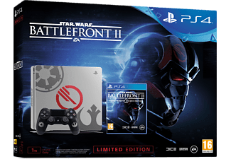 SONY Playstation 4 Slim 1TB E SW Ltd. Ed + Star Wars BattleFront II Deluxe Oyun Konsolu