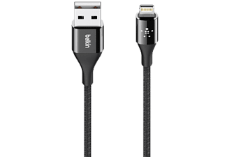 BELKIN USB-kabel Apple Lightning 1.2 m Zwart (F8J207BT04-BLK)