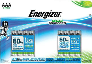 ENERGIZER EcoAdvanced Energizer EcoAdvanced