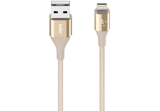 BELKIN USB-kabel Apple Lightning 1.2 m Goud (F8J207BT04-GLD)