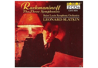 Saint Louis Symphony Orchestra - Rachmaninoff:Sinfonien 1-3 - (CD)