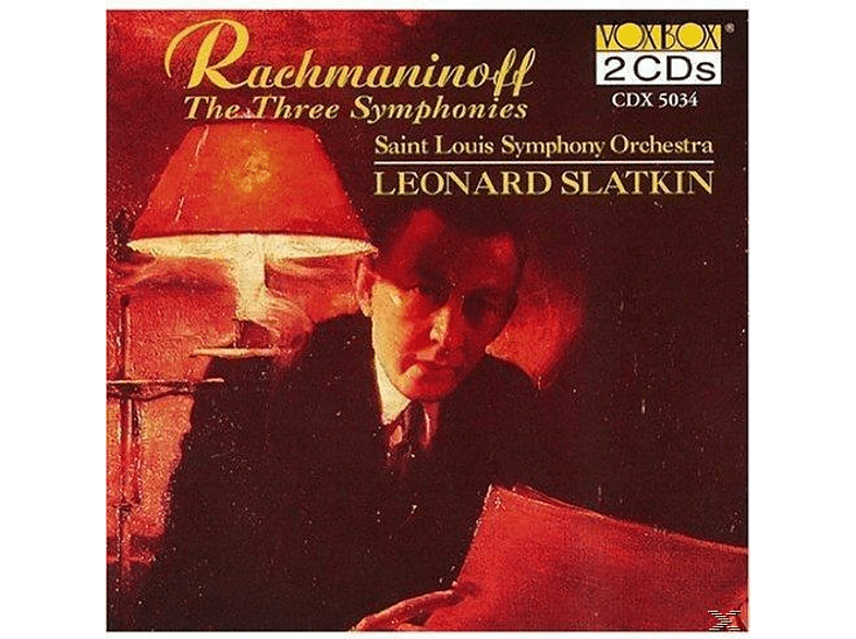 Saint Louis Symphony Orchestra - Rachmaninoff:Sinfonien 1-3 [CD]