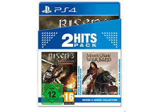 2 Hits Pack: Risen 3 - Enhanced Edition + Mount & Blade - Warband - PlayStation 4