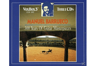 Barrueco Manuel - Barrueco Sp.300 Years of Guitar Masterpieces - (CD)
