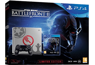 SONY Playstation 4 Slim 1TB (inkl Star Wars Battlefront 2 Special Edition)