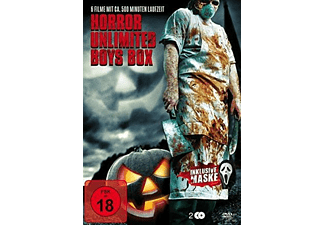 HORROR UNLIMITED BOYS BOX (6 FILME AUF 2 DVDS) - (DVD)