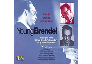 Alfred Brendel, Pro Musica Orchester Wien, Orchester Der Wiener Staatsoper - The Young Brendel - (CD)