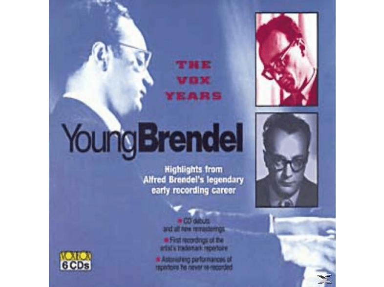 Alfred Brendel, Pro Musica Orchester Wien, Orchester Der Wiener Staatsoper - The Young Brendel [CD]
