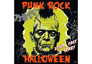 VARIOUS - Punk Rock Halloween-Loud,Fast & Scary - (CD)