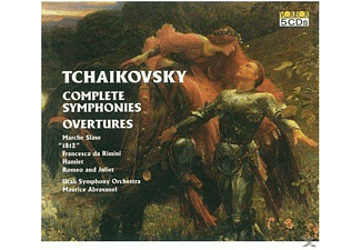 Utah Symphony Orchestra - Tschaikowsky:Complete Symphonies,Overtures - (CD)