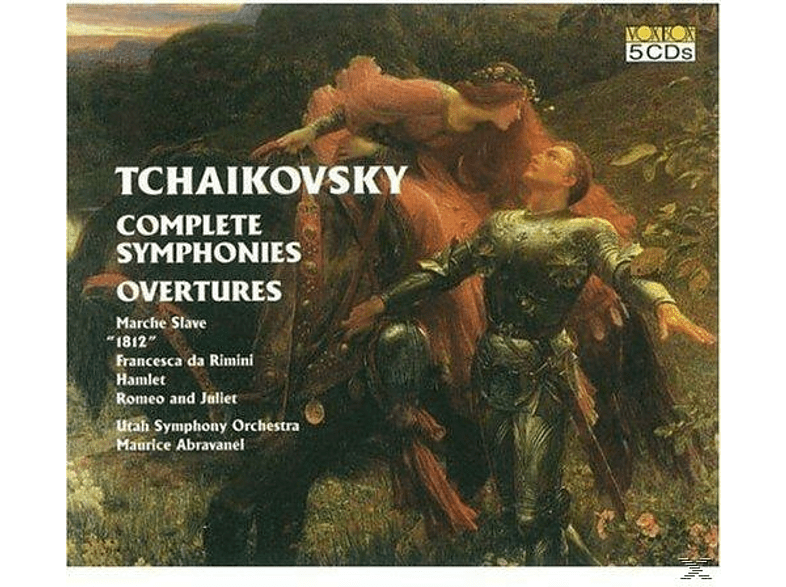 Utah Symphony Orchestra - Tschaikowsky:Complete Symphonies,Overtures [CD]