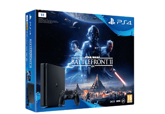 SONY Playstation 4 Slim 1TB (inkl Star Wars Battlefront 2)