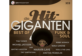 VARIOUS - Die Hit Giganten Best Of Funk & Soul - (CD)