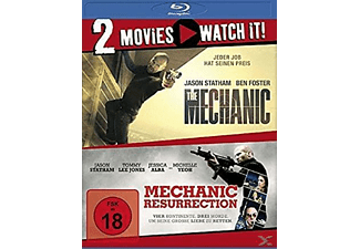 THE MECHANIC/MECHANIC RESURRECTION - (Blu-ray)
