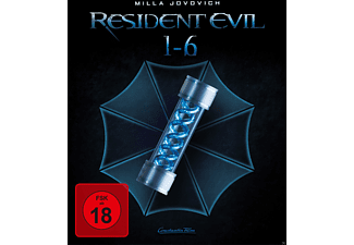Resident Evil - 6 Movie Collection (3D) - Digipack - Exklusiv - (3D Blu-ray (+2D))