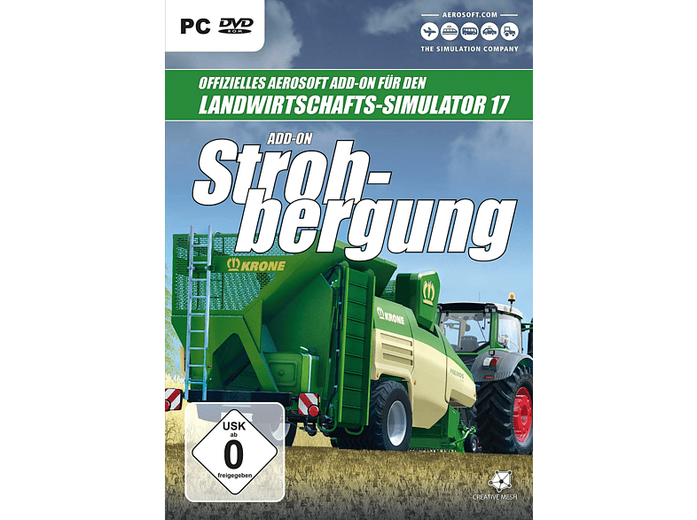 Landwirtschafts-Simulator Add-On Strohbergung [PC]