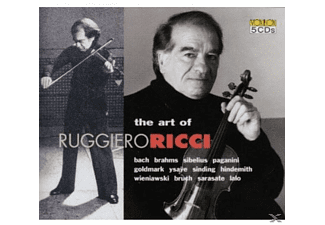 Ruggiero Ricci - The Art Of Ricci - (CD)