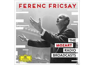 RIAS Symphony Orchestra - The Mozart Radio Broadcasts - (CD)