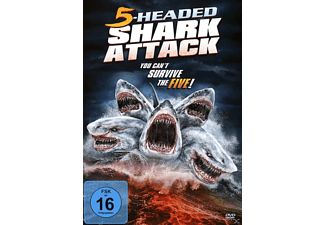 5-Headed Shark Attack - (DVD)