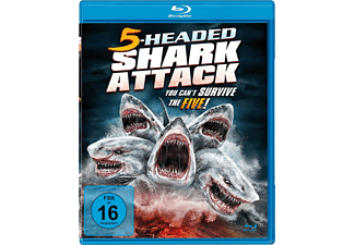 5-Headed Shark Attack - (Blu-ray)