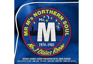 VARIOUS - MR M's Northern Soul-Wigan Casino No.1 Oldies Room - (CD)