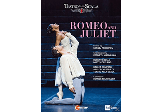 Roberto Bolle, Misty Copeland, Ballet Company and Orchestra of Teatro alla Scala - Romeo And Juliet [DVD]