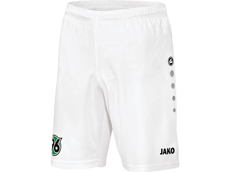 JAKO Hannover 96 Shorts, Weiß