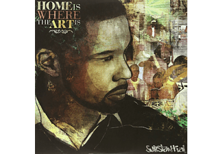 Substantial - Home Is Where The Art Is - (Vinyl)