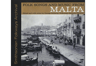 VARIOUS - Folk Songs And Music From Malta - (CD)