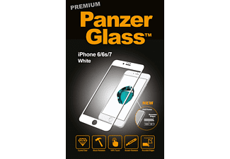 PANZERGLASS 2616, Displayschutzglas, Transparent / Weiß, passend für Apple iPhone 6/iPhone 6S/iPhone 7