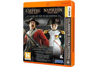 Empire: Total War + Napoleon: Total War - Game Of the Year Edition (Clasics Collection) (PC)