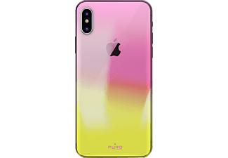 "PURO ""Hologram"" Cover Handyhülle, Orange, passend für Apple iPhone X"
