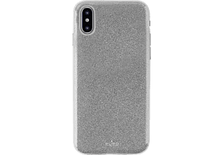 "PURO ""Shine Cover"" Handyhülle, Apple iPhone X, Silber"