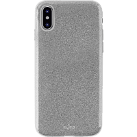 "PURO ""Shine Cover"" , Backcover, Apple, iPhone X, Silber"