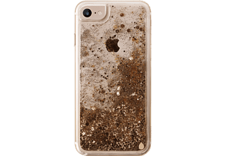 "PURO ""Aqua Winter"" Cover Handyhülle, Gold, passend für Apple iPhone 6, iPhone 6s, iPhone 7, iPhone 8"