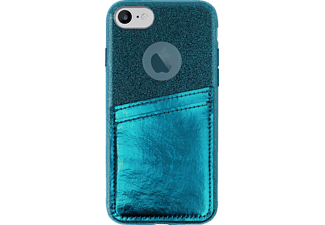 PURO Shine Pocket iPhone 6/iPhone 6S/iPhone 7/iPhone 7S/iPhone 8 Handyhülle, Dunkelgrün