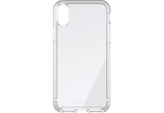 TECH21 Pure Clear Handyhülle, Transparent, passend für Apple iPhone X