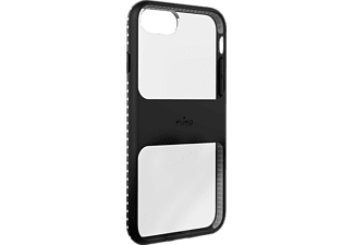 PURO Magnet Shield iPhone 6, iPhone 6s, iPhone 7, iPhone 7s Handyhülle, Schwarz