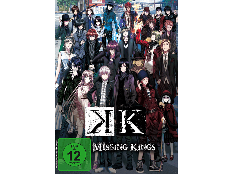 K - Missing Kings [DVD]