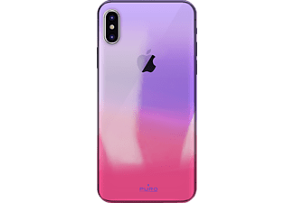 "PURO ""Hologram"" Cover Backcover Apple iPhone X  Pink"