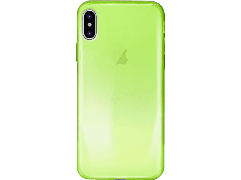 PURO Ultra-Slim Backcover Apple iPhone X Thermoplastisches Polyurethan Grün