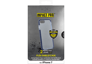 PURO Flex Shield Handyhülle, Blau, passend für Apple iPhone 7