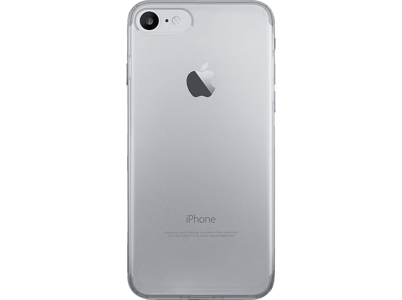 PURO 0.3 Nude , Backcover, Apple, iPhone 7, Transparent