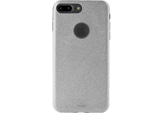 PURO Shine Backcover Apple iPhone 7+  Silber